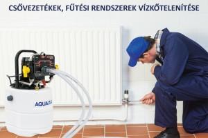 Csővezetékek, fűtési rendszerek vízkőtelenítése